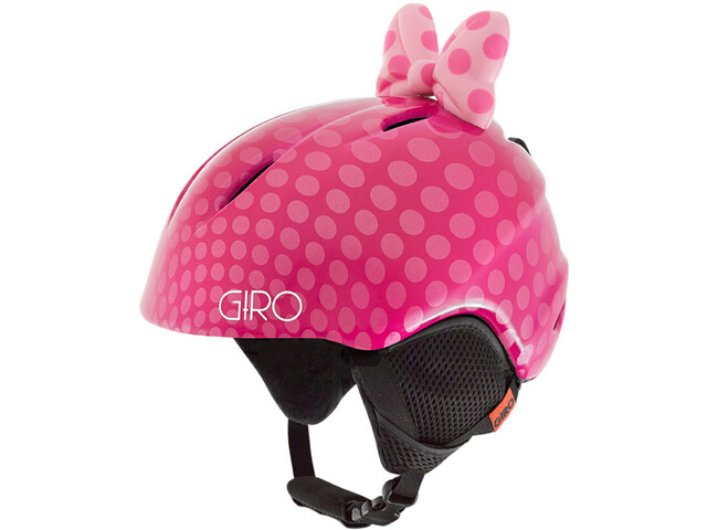 Giro Launch Plus Kypärä Lapset, pink bow polka dots